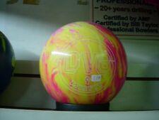 = 11# Former Display DV8 MISFIT Magenta/Yellow Bowling Ball