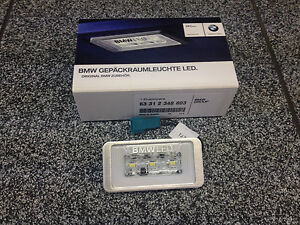 BMW REPLACEMENT LED LUGGAGE INTERIOR BOOT LIGHT UPGRADE KIT 63312348803