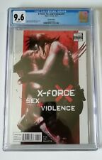 Xforce Sex And Violence #1 2nd Printing Variant CGC 9.6✨ DELL'OTTO✨ WOLVERINE