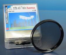 Hama ø58mm Pol FILTRO FILTRO FILTRE PL Circular (IV) - (41772)