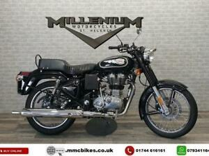 2017 (67) ROYAL ENFIELD BULLET CLASSIC 500 EFI FINISHED IN BLACK