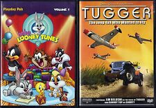 Baby Looney Tunes: Volume 1 (DVD, 2006) & Tugger: The Jeep 4x4 Who Wanted To Fly