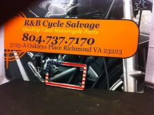 2005 05 Harley Davidson Road King Classic FLHRCI FLH License Plate Cover Trim