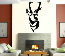 Wall Stickers Vinyl Decal Deer Horn Nature Animal Tribal ig133