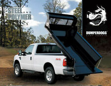 Buyers DUMPER DOGG Electric Steel Pickup Dump Truck Insert 6' 1.5 cu yd NEW