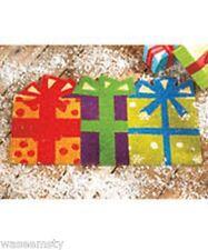 Colorful Polka Dot Gift Boxes Present Coir Coco Welcome Doormat Door Mat Decor