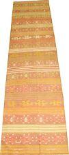 Vintage Decorative Turkish Anatolian Oushak Ushak Kilim Rug Runner Size 2.7x12