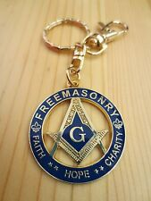 Masonic Key Chain K07 Mason FREEMASONRY FAITH HOPE CHARITY