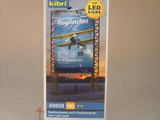 Advertising Wall M. 2 Floodlight Reflector LED Technology-Kibri HO 49809 # E