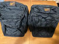 Nashbar Bicycle Rear Pannier Side Rack Bags USA Touring Bike