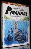 DVD PIRANHAS - CREATURE FEATURE - 1978 - PIRANHA-HORROR - JOE DANTE *** NEU ***
