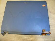 "Sony Vaio PCG-F630 F630 Laptop Complete Display Screen Assembly XGA 14"" Matte"