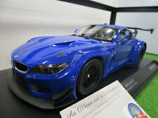 BMW Z4 GT3 d 2012 bleu au 1/18 MINICHAMPS 151122302 voiture miniature collection