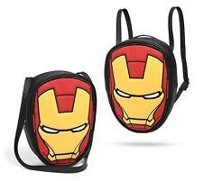 Marvel Avengers Iron Man Convertible Backpack & Shoulder Tote Bag! (Brand New)