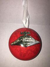 Disney Christmas Ornament Xmas Star Wars Star Destroyer Force Hallmark Store