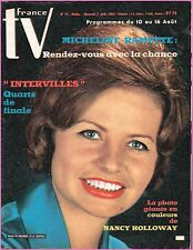 ▬►FRANCE TV N°71 (1963) MICHELINE RAMETTE_NACY HOLLOWAY + POSTER_MAURICE JARRE