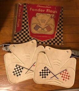 Pair of Fender Vintage Accessory Auto Parts NOS in box