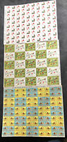 3 SHEETS (100 each)  MNH American Lung Assoc CHRISTMAS SEALS/ SEE IMAGES 1205