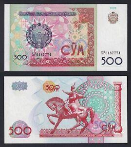 Uzbekistan - 500 sum 1999 FDS/UNC  A-10