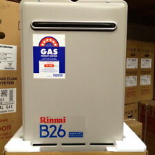 Rinnai B26 Builders Series Continuous Flow Home Hotwater System - 50C - LPG