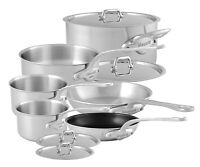 Mauviel M'Urban 10 Piece Cast Stainless Steel Cookware w Stainless Steel Handle