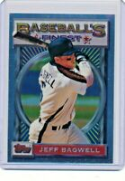 1993 Topps Finest #11 Jeff Bagwell Houston Astros Baseball Card