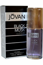 Jovan Black Musk For Men Cologne Spray 88ml Mens Fragrance