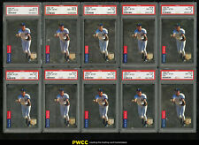 Lot(10) 1993 SP Foil Derek Jeter ROOKIE RC #279, ALL PSA 8 NM-MT (PWCC)