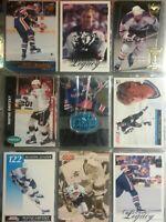 9 Card Lot Wayne Gretzky Oilers Kings Hockey