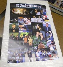 Vintage 2000 Backstreet Boys Collage Poster Never Previously Displayed (23 x 35)