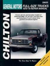 Chilton Chevrolet Full Size Pick-ups Suburban 1970-1979 Repair Manual #28620