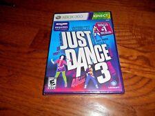 Just Dance 3: Xbox 360 Game Microsoft Kinect Sensor ] New + I Ship Faster
