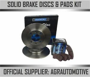OEM SPEC REAR DISCS AND PADS 240mm FOR FIAT TEMPRA 2.0 1990-96