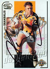 ✺Signed✺ 2005 WESTS TIGERS NRL Premiers Card JOHN SKANDALIS
