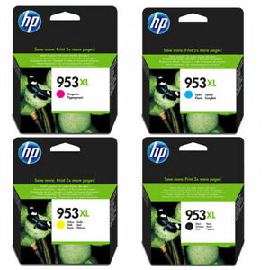 GENUINE & ORIGINAL HP953XL COMBO PACK / 3HZ52AE OfficeJet 7720, 8715, 8720, 8710