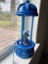 "Vintage Dolphin Rain Fall Dripping Oil MOTION Lamp 16"" high Works Light Rare HTF"