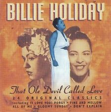 Billie Holiday-That Ole Devil Called Love CD