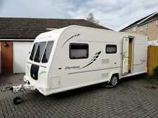Bailey Olympus 525 5 Berth Caravan (with motor mover & large air awning)