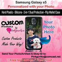 Customized Photo Selfie Custom Phone Case Cover for Samsung Galaxy s5 Gift