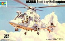Trumpeter 1:35 AS565 Panther Helicopter Model Kit