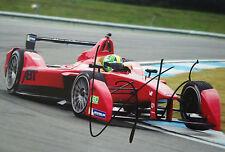 Lucas di Grassi SIGNED Abt Team Audi Formula E Testing Donington 2014
