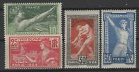 AX140777/ FRANCE / OLYMPIC GAMES / Y&T # 183 / 186 MNH COMPLETE - CV 190 $