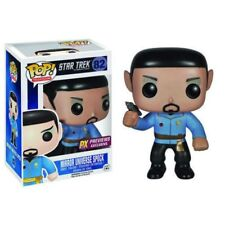 FUNKO POP!  STAR TREK  MIRROR UNIVERSE SPOCK #82  PX PREVIEWS exclusive +P/Prot