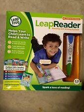 NEW LeapFrog LeapReader Pen Reading Writing System Learning Sounds Green USB NIB
