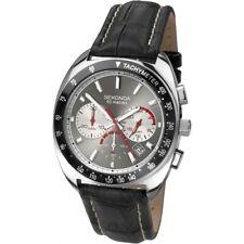 Sekonda Cronógrafo Hombre Reloj Correa de Cuero - 3509-SNP