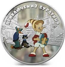Cook Islands 2012 5$ Adventures Of Buratino-Buratino 1Oz Silver Coin