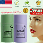 Green Tea Purifying Clay Stick Deep Cleansing Oil control  Mask Anti-Acne Beauty