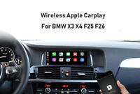 Wireless Apple Carplay Interface Module Android auto For BMW X4 F26 NBT system