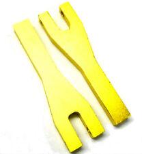 L11080 1/10 Escala De Suspensión Inferior Susp Brazo X 2 Oro Amarillo De 70mm