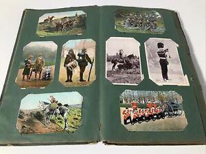 ANTIQUE POSTCARD ALBUM - 135 STUNNING CARDS - EDWARDIAN - VINTAGE - CARDS